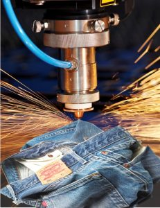 Levi's, Lasers, and Reduced Lead Time