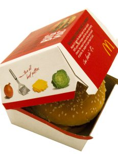Artificial Ingredients Removed from McDonald's Hamburgers