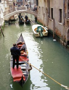In Venice: Unsustainable Tourism