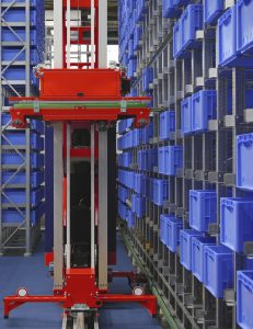 LocusBots Track Real-Time Warehouse Operations